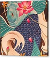 Water Dragon Acrylic Print by Robert Hooper