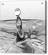 Water Drop Circus Act Acrylic Print