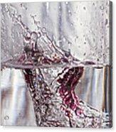 Water Drops Abstract  Acrylic Print