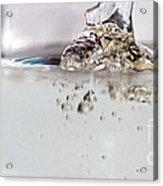 Water Drops Abstract6 Acrylic Print