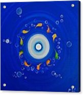 Water Eye Acrylic Print