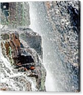 Water Fall Off Mt. Wilson Colorado Acrylic Print