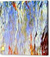 Water Fountain Abstract #30 Acrylic Print