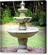 Water Fountain  Acrylic Print