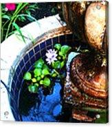 Water Fountain Acrylic Print