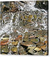 Water From A Stone Acrylic Print
