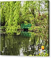 Water Garden Wonder Acrylic Print