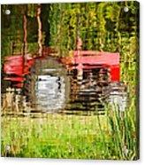 Water Gardening Acrylic Print