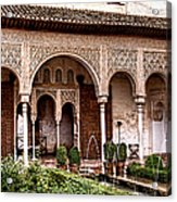 Water Gardens Of The Palace Of Generalife Acrylic Print