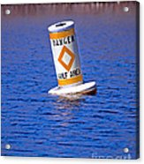 Water Hazard Acrylic Print