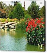 Water Hazard Santa Maria Country Club Acrylic Print