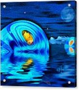 Water Homes Of The Sea Fairies Acrylic Print