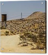 Water In The Desert Acrylic Print