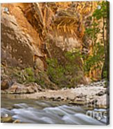 Water In The Narrows Acrylic Print