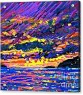 Water Island Sunset Acrylic Print