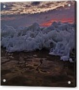 Water Level Surf Predawn 4 10/18 Acrylic Print
