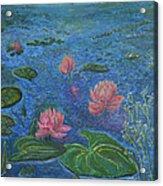 Water Lilies Lounge 2 Acrylic Print
