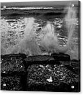 Water Lines Acrylic Print