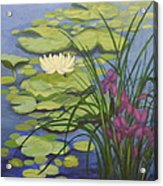 Water Lotus Acrylic Print
