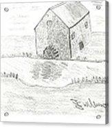 Water Mill Acrylic Print
