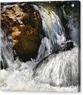 Water On The Rocks 2 Acrylic Print