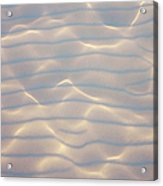Water Patterns And Sunny Play Acrylic Print