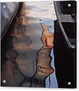 Water Reflections Abstract Acrylic Print