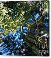 Water Reflections 4 Acrylic Print