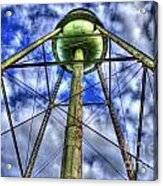 Mary Leila Cotton Mill Water Tower Art  Acrylic Print