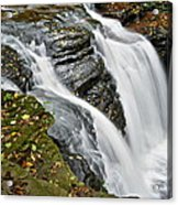 Water Rushes Forth Acrylic Print