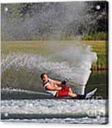 Water Skiing 10 Acrylic Print