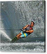 Water Skiing Magic Of Water 14 Acrylic Print