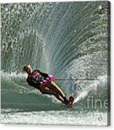 Water Skiing Magic Of Water 27 Acrylic Print