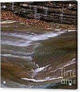 Water Slide Acrylic Print