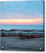 Water Sunset Acrylic Print