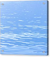 Water Surface Background Acrylic Print