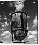 Water Tower At Mt Diablo Acrylic Print
