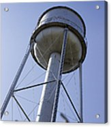 Water Tower Deer Lodge Montana Acrylic Print