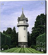 Water Tower Folly Acrylic Print