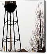 Water Tower In River Rouge Acrylic Print