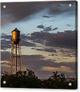 Water Tower Nm Acrylic Print