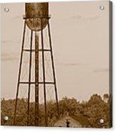 Water Tower Acrylic Print
