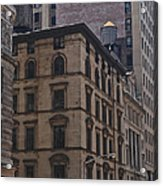 Water Towers Feed The Nyc Buildings Acrylic Print