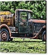 Water Truck Acrylic Print