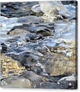 Water Under Ice Acrylic Print