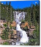Water Water And More Water Hence Waterfall Acrylic Print