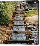 Water Way To Mill Acrylic Print