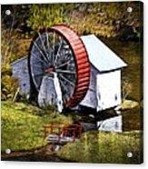 Water Wheel Acrylic Print