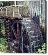 Water Wheel Acrylic Print