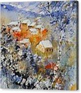 Watercolor 314031 Acrylic Print